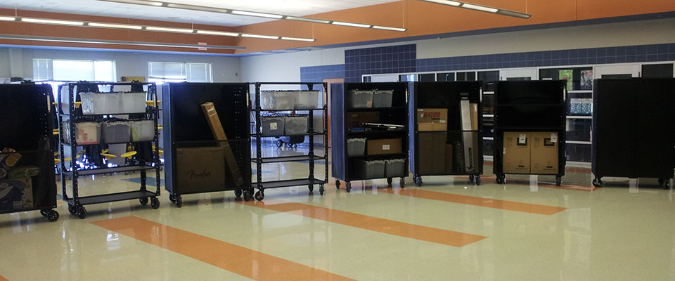 Portable Carts for Church Supplies