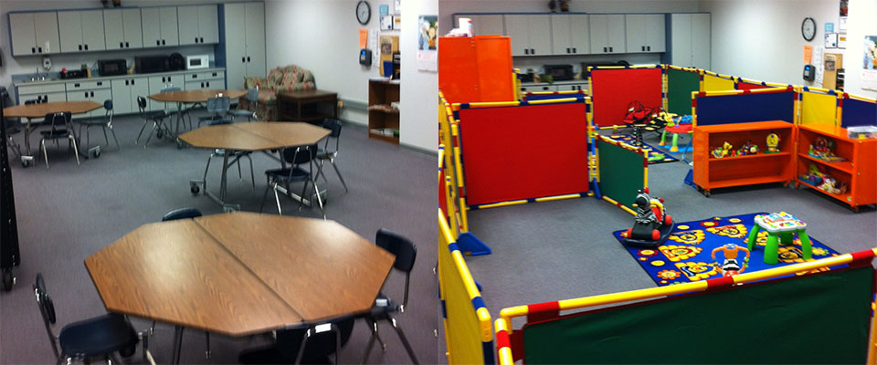 Children's Ministry setup in School