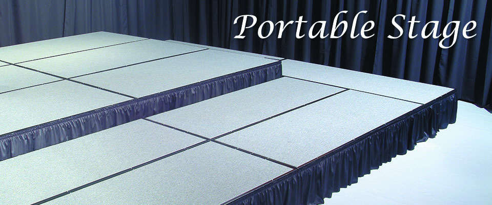 Portable Stage for churches
