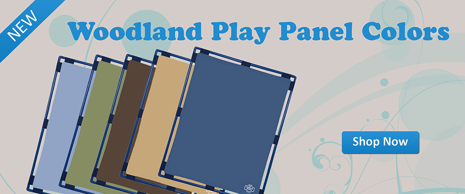Woodland Play Panels