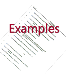 Example Packages