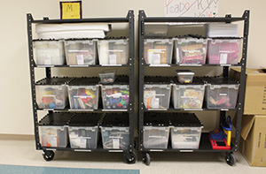 Church on Wheels Mobile Carts