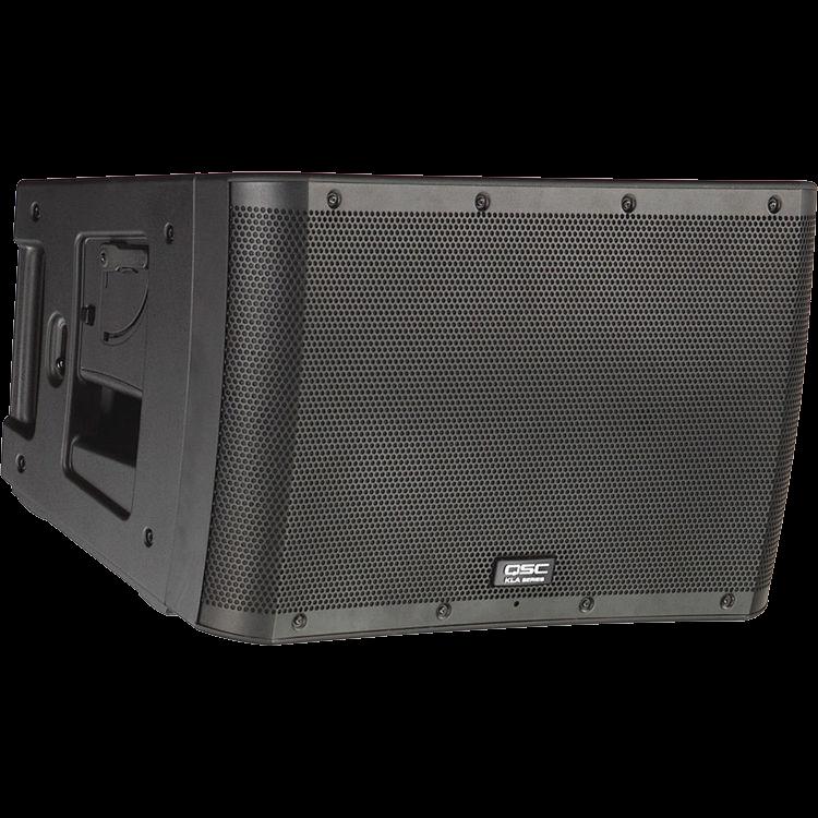 qsc kla series line array loudspeaker church on wheels. Black Bedroom Furniture Sets. Home Design Ideas