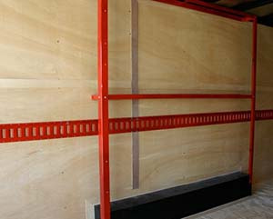 E Track Is A Standard For Securing Loads In The Shipping And Logistics Industry It Makes Very Quick Easy To Secure Cart Side Wall Or Group